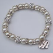 Mother Of The Groom Bracelet - Glitzy Style